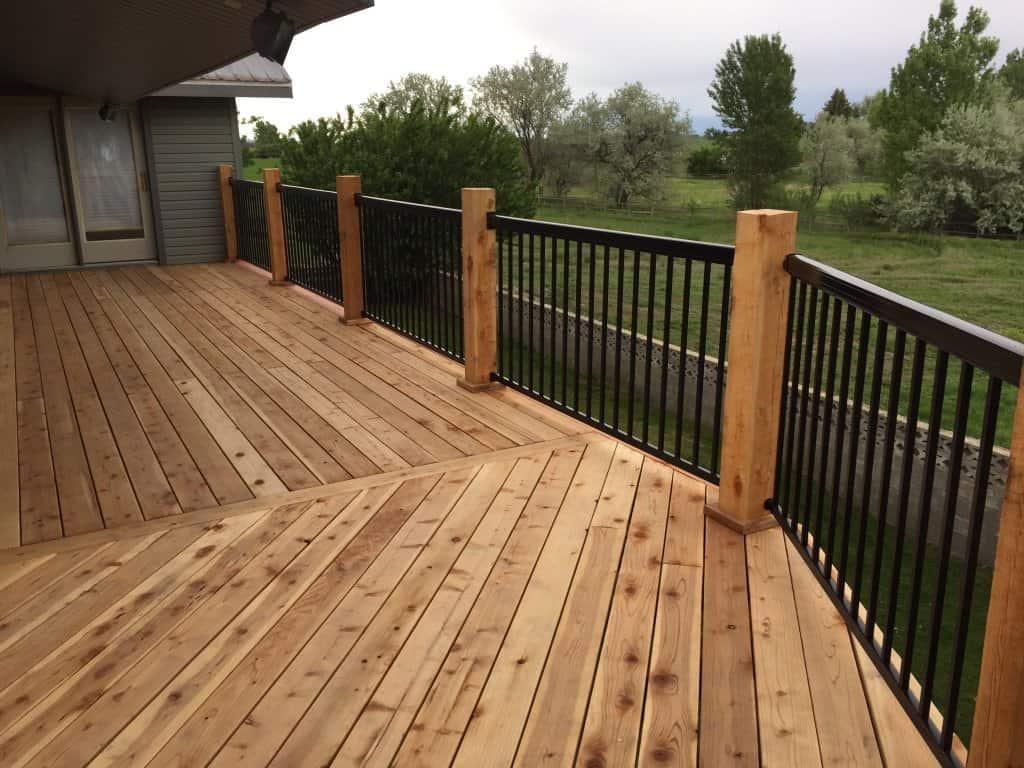 Redwood Deck Eastern Idaho